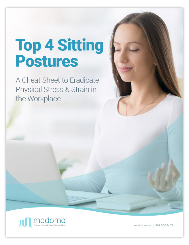 Top 4 Sitting Postures - A Cheat Sheet to Eradicate Physical Stress & Strain in the Workplace